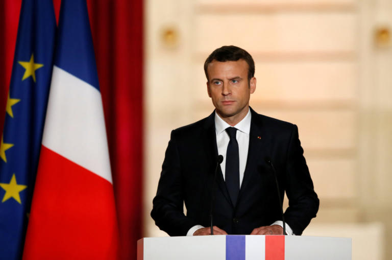 Γαλλία: Αντιδράσεις της αριστεράς στις εξαγγελίες Μακρόν