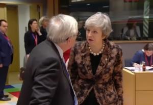 Brexit: Συνομιλίες Γιούνκερ και Μέι για περαιτέρω παραχωρήσεις