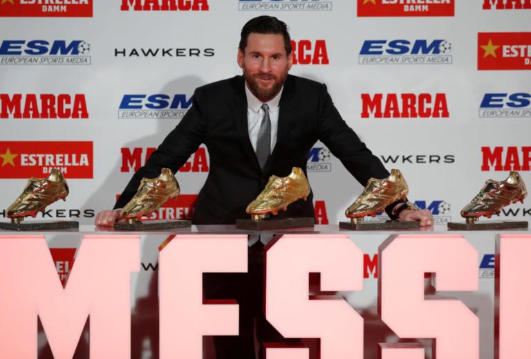 """Ξεπέρασε Ρονάλντο ο Μέσι! Πέμπτο """"χρυσό παπούτσι"""" για τον Αργεντινό [vid, pics]"""