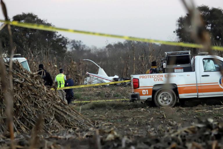 Μεξικό: Σκοτώθηκε σε αεροπορικό δυστύχημα η κυβερνήτης της Πουέμπλα [pics]