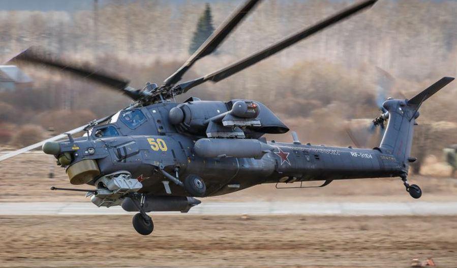 """""""Κυνηγός της Νύχτας"""": Αυτό είναι το θανατηφόρο ελικόπτερο του Πούτιν!"""