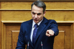 """Φουλ επίθεση Μητσοτάκη! """"Καταψηφίζουμε την κυβέρνηση των φόρων, της διαπλοκής και των εθνικών υποχωρήσεων!"""""""