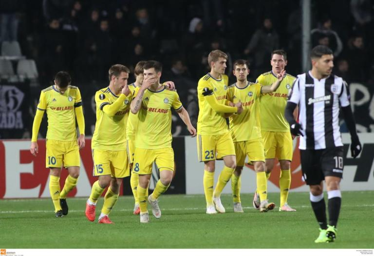"Europa League, ΠΑΟΚ – ΜΠΑΤΕ Μπορίσοφ 1-3 ΤΕΛΙΚΟ: ""Τραγωδία"" στην Τούμπα για τον Δικέφαλο του Βορρά!"