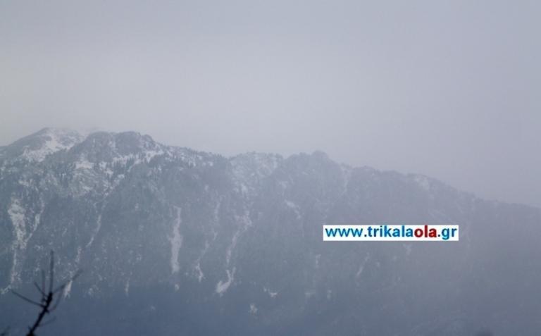 Χιονίζει στο Περτούλι [pics]