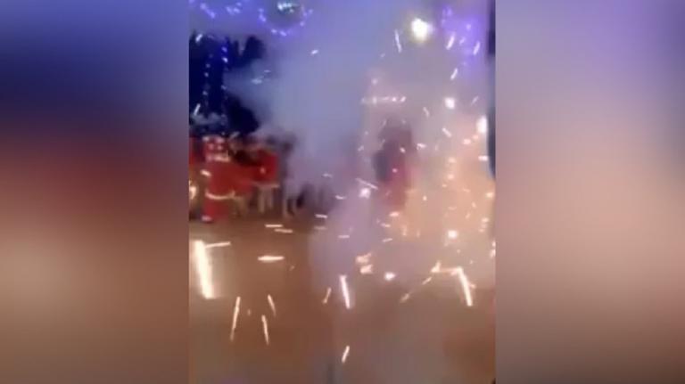Πανικός στο πάρτι του νηπιαγωγείου! Έτρεχαν όλοι να σωθούν – video