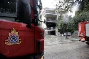 Νίκαια: Φωτιά σε διαμέρισμα – Ένας νεκρός