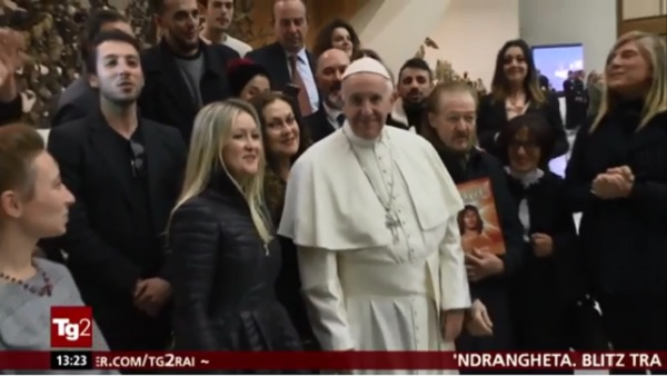 Ανατρεπτική έξοδος για τον Πάπα – Παρακολούθησε το «βλάσφημο» Jesus Christ Superstar