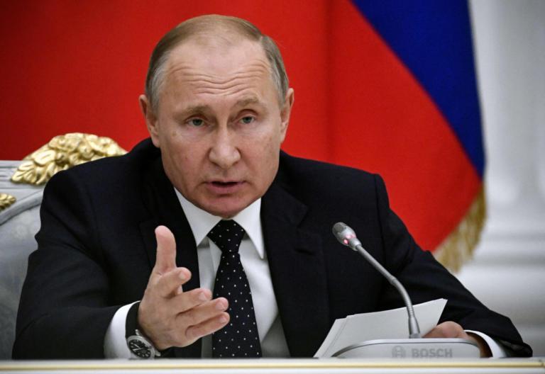 Πούτιν: Το Κοσσυφοπέδιο δημιουργεί κίνδυνο αποσταθεροποίησης στα Βαλκάνια