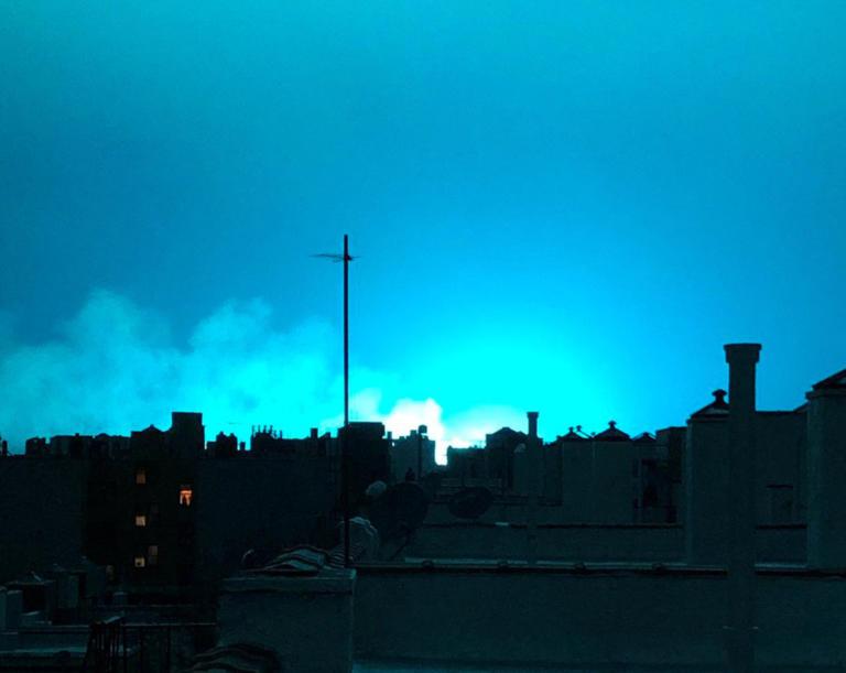 Αρμαγεδδών; Ένα απόκοσμο φως κάλυψε όλη τη Νέα Υόρκη! [pics, video]