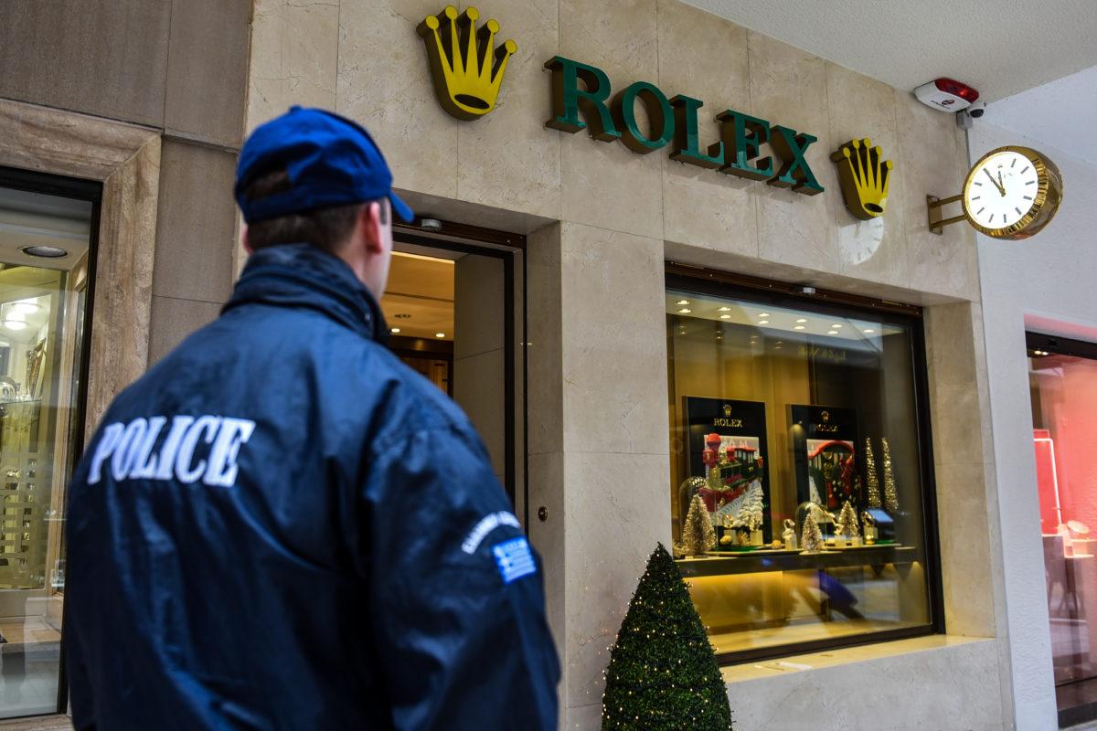 Rolex ληστεία