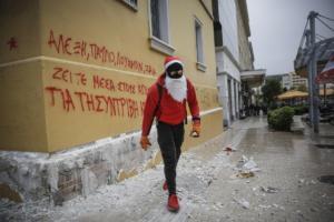 Γρηγορόπουλος: Ο Άγιος Βασίλης… με την σφεντόνα! [pics]