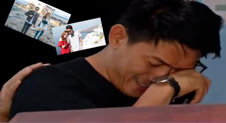 Τσουνάμι στην Ινδονησία: Κλαίει με λυγμούς πάνω από το φέρετρο της συζύγου του ο τραγουδιστής