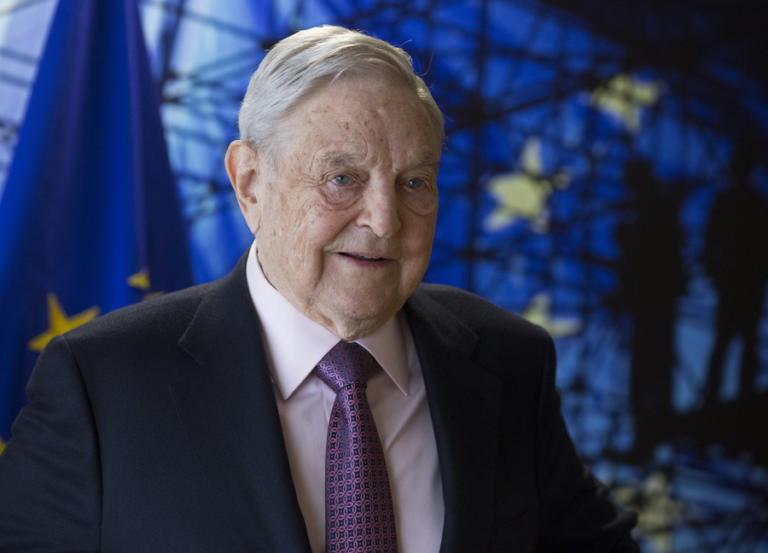 """""""Πρόσωπο της χρονιάς"""" για τους Financial Times ο Τζορτζ Σόρος"""