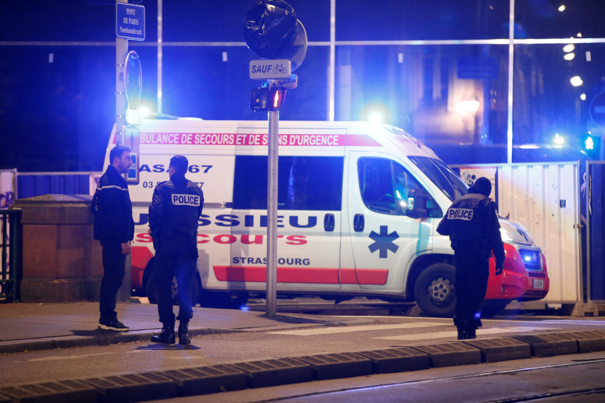 Πυροβολισμοί στο Στρασβούργο! Εκκενώθηκε χριστουγεννιάτικη αγορά