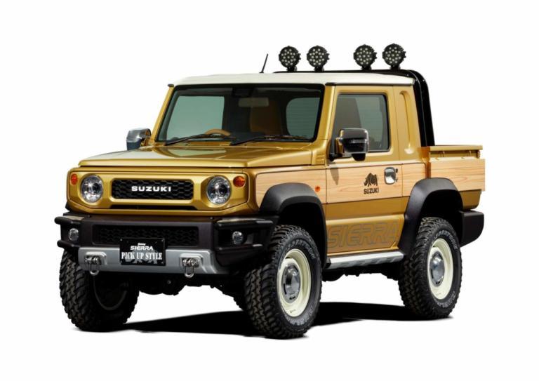 Πανέμορφο pick-up Jimny από την ίδια τη Suzuki