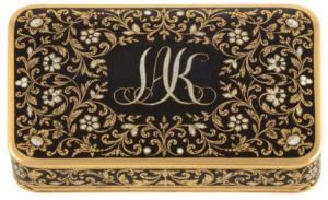 Πωλήθηκε 73.000 ευρώ η προσωπική ταμπακιέρα του Ιωάννη Καποδίστρια!