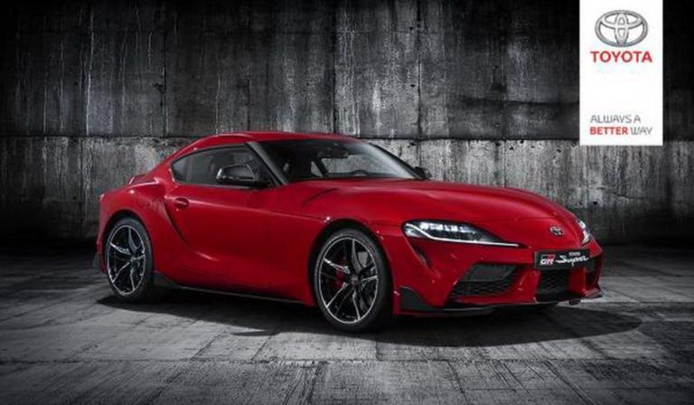Αυτές είναι οι πρώτες επίσημες φωτογραφίες της νέας Toyota Supra