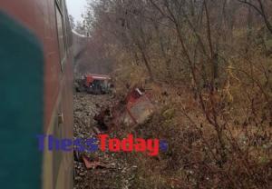 Σύγκρουση τρακτέρ με τρένο! Ένας νεκρός!