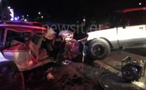 Τροχαίο στην Κυπαρισσία με δύο νεκρούς! Σοκαριστικές εικόνες από το σημείο