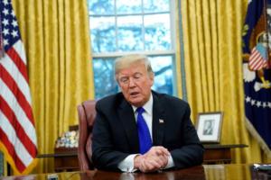 Τραμπ: Μεγάλη πρόοδος στις διαπραγματεύσεις με την Κίνα