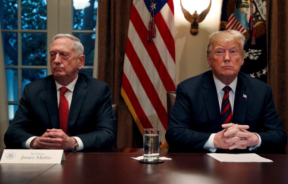 Μένει μόνος ο Τραμπ! Παραιτείται και ο υπουργός Άμυνας των ΗΠΑ, Τζιμ Μάτις
