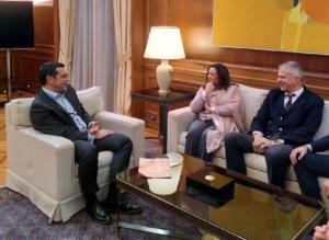 Συνάντηση Τσίπρα με την Τυνήσια κάτοχο του Νόμπελ Ειρήνης