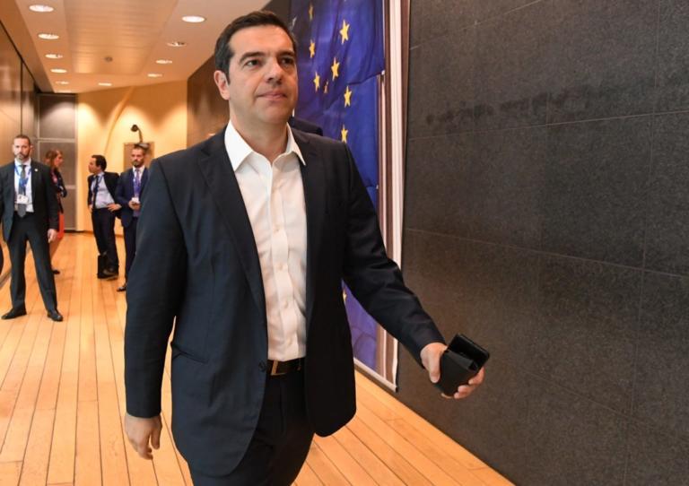 Στις Βρυξέλλες ο Αλέξης Τσίπρας για το Ευρωπαϊκό Συμβούλιο