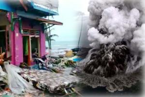 Τσουνάμι Ινδονησία: Το χρονικό της τραγωδίας – Απόκοσμες εικόνες του ηφαιστείου που προκάλεσε όλεθρο – Video