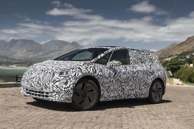 To νέο ηλεκτρικό της Volkswagen υπό τον ήλιο! [pics]