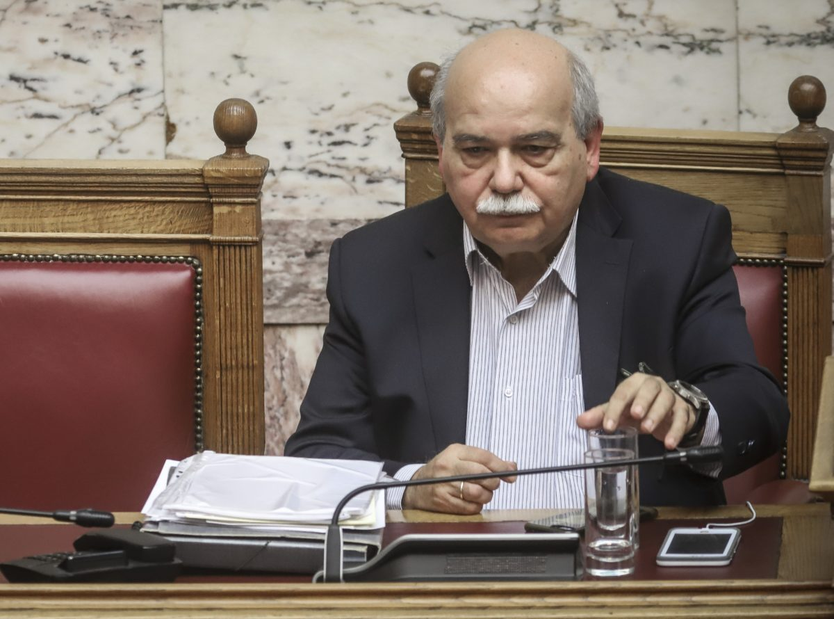 Πρόεδρος της Βουλής Νίκος Βούτσης