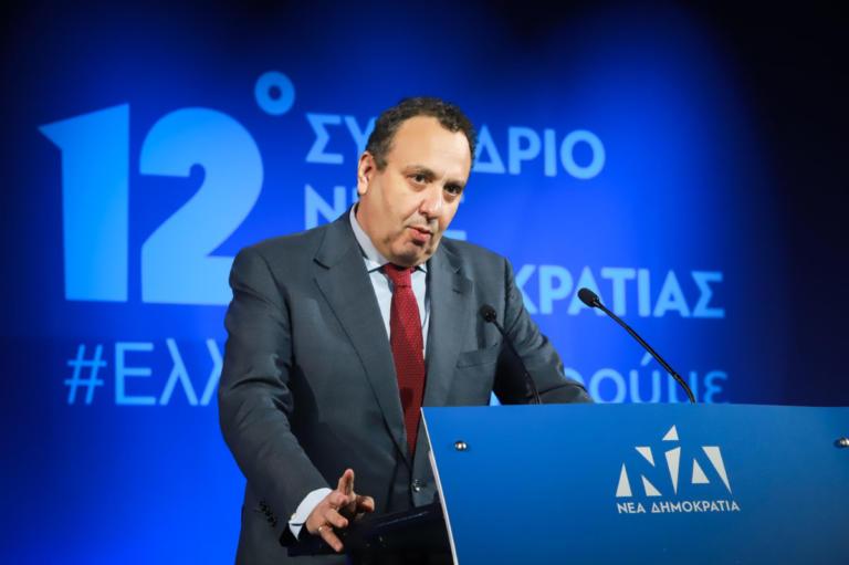 """Συνέδριο ΝΔ – Χωμενίδης: """"Η καρδιά μου είναι μαζί σας"""" – """"Διαόλου κάλτσα ο Τσίπρας, κάθε μέρα απόκριες για τον Καμμένο!"""""""