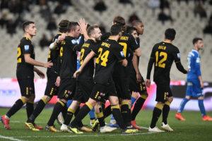 """Κύπελλο Ελλάδας: Σαν… άνεμος! Η ΑΕΚ """"παρέσυρε"""" τον Κισσαμικό"""