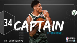 Αντετοκούνμπο: Έφτασε η ώρα του… Captain Giannis στο All Star Game!