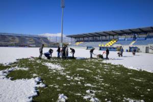 Αστέρας Τρίπολης – ΠΑΟΚ: Απομακρύνεται το χιόνι! Πλησιάζει… η σέντρα – [video, pics]