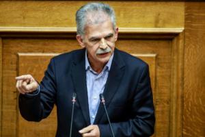 Δανέλλης: Δεν θα υπήρχε Συμφωνία των Πρεσπών χωρίς κυβέρνηση να τη φέρει