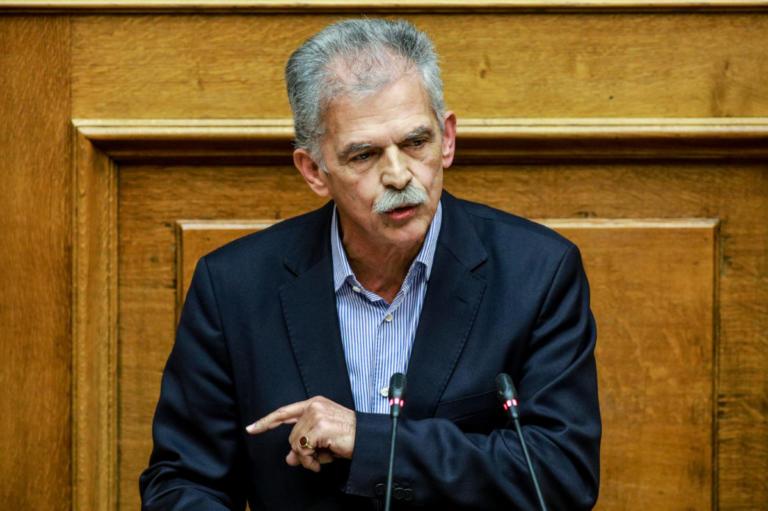 Δανέλλης: Σταύρο μην κάνεις ούτε το «έγκλημα» ούτε το «λάθος» για τις Πρέσπες | Newsit.gr