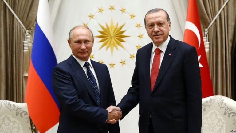 Ο Ερντογάν ο Πούτιν και η… Τροία