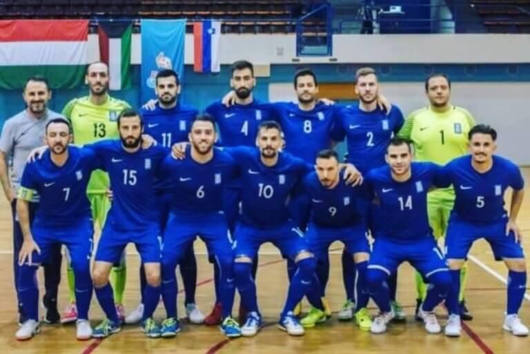 Futsal: Με αυτά τα χρώματα θα παίξει η εθνική στα Σκόπια – [pic]