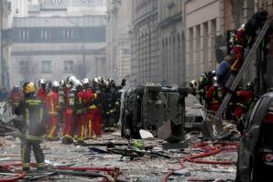 Παρίσι: Βομβαρδισμένο τοπίο μετά την φονική έκρηξη στο κέντρο της πόλης!