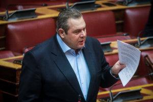 Καμμένος: Εκλογές πριν τις 25 Μαρτίου – Ο Τσίπρας μου πρότεινε να κατέβω με το ψηφοδέλτιο του ΣΥΡΙΖΑ