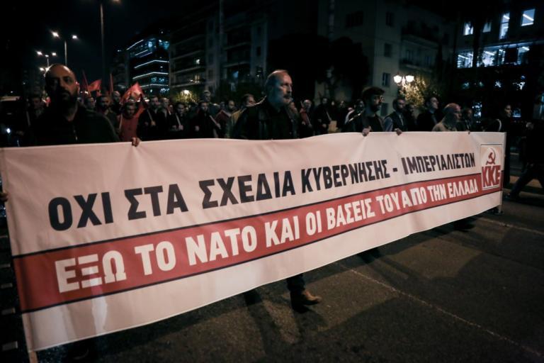 """ΚΚΕ: """"Τσίπρας – Ζάεφ υπηρέτες του ΝΑΤΟ και των Αμερικανών"""""""