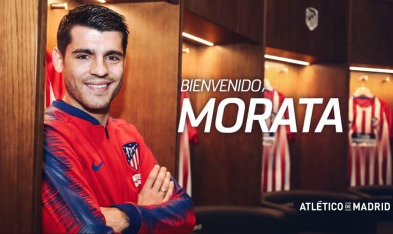 Είναι επίσημο! Ο Μοράτα στην Ατλέτικο Μαδρίτης