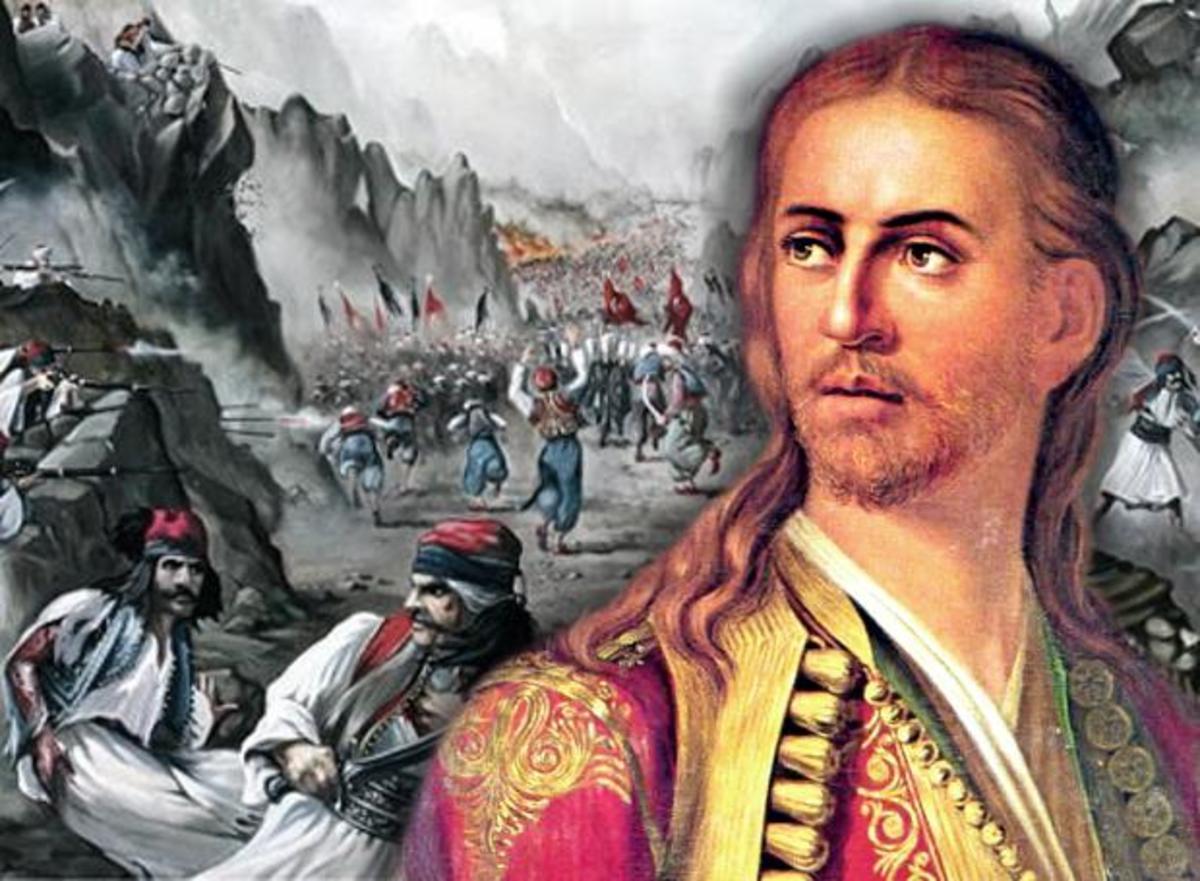 """Μάχη των Στύρων: Ο εμβληματικός Επαναστάτης Ηλίας Μαυρομιχάλης """"πέφτει"""" ηρωικά για την Ελληνική Ανεξαρτησία!"""