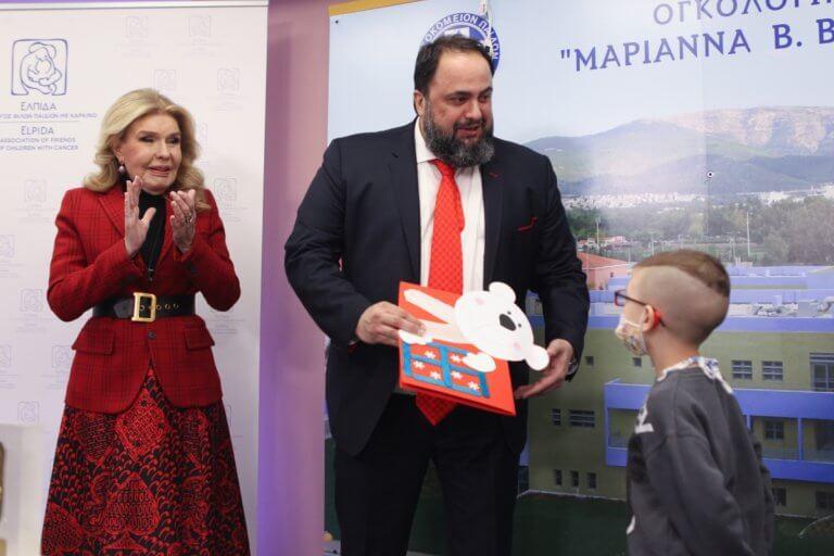 Μαρινάκης και Ολυμπιακός έδωσαν και πάλι «Ελπίδα»! [pics]   Newsit.gr
