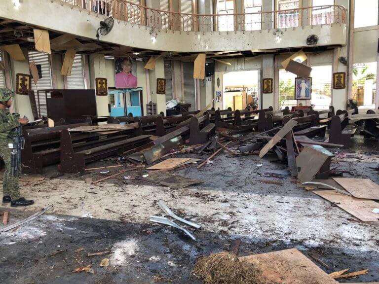 Φιλιππίνες: Τζιχαντιστές ανέλαβαν την ευθύνη για τη σφαγή σε καθολική εκκλησία – video