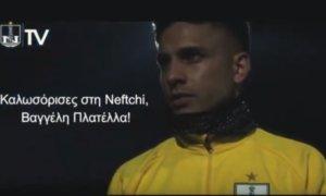Ο Πλατέλλας ανακοινώθηκε από ομάδα του Αζερμπαϊτζάν! video
