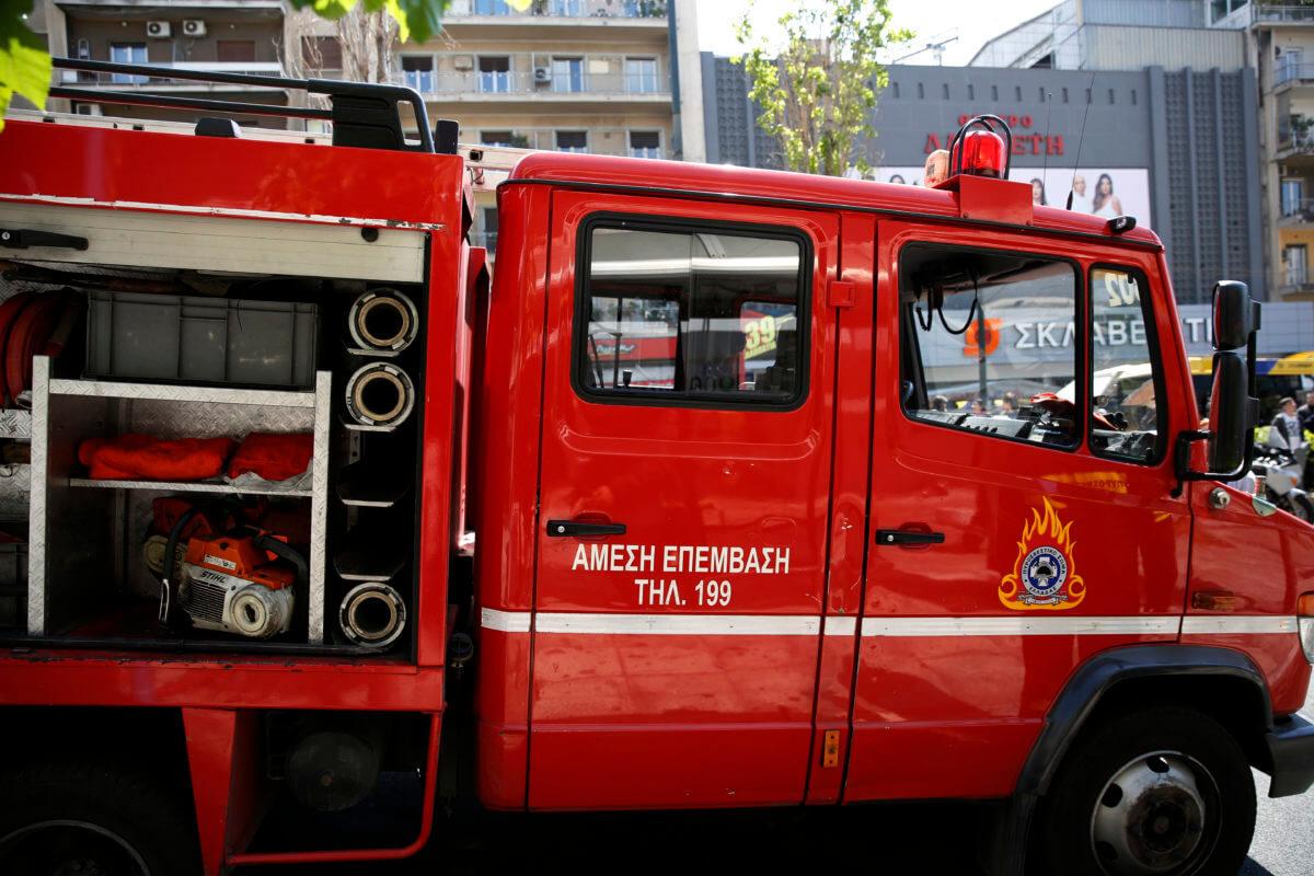 Νεκρός άνδρας μετά από φωτιά στο Κολωνό