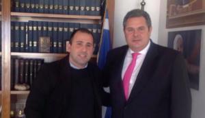 """""""Η Μακεδονία είναι μία και ελληνική"""" λέει και παραιτείται από το ΥΠΕΘΑ συνεργάτης του Πάνου Καμμένου!"""