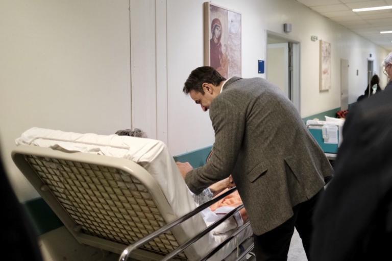Στο Αττικό Νοσοκομείο ο Κυριάκος Μητσοτάκης | Newsit.gr