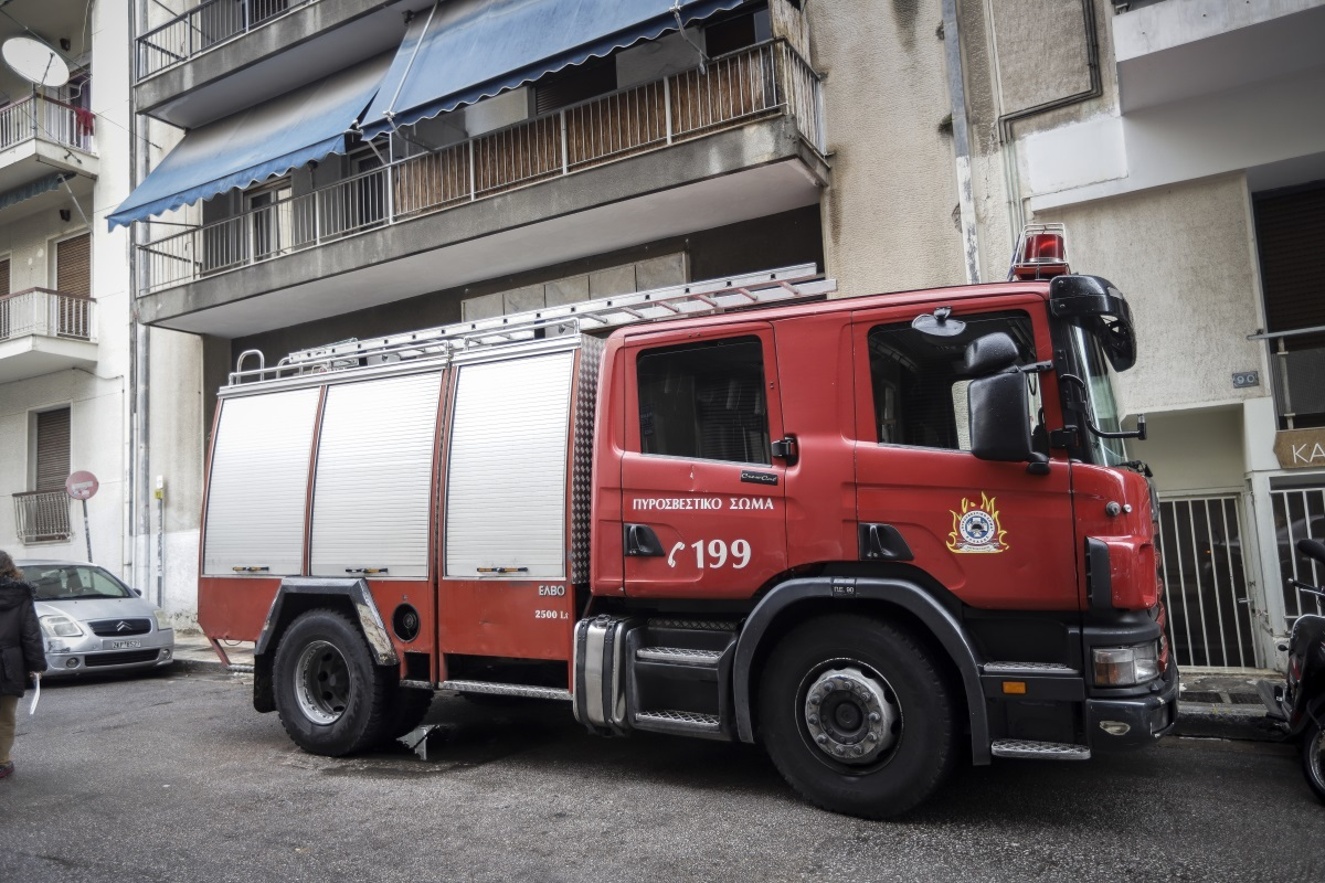Φωτιά σε διαμέρισμα στην οδό Αχαρνών